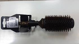 Щетка для укладки FОX  EXPERT деревянная щетка, натур щетина ф40мм арт1509352