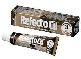 Краска для бровей и ресниц-коричневая 3 (15мл) Refectocil