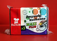 ГУБКИ ДЛЯ ПОСУДЫ KUCHCIK MAXI PLUS 5шт.