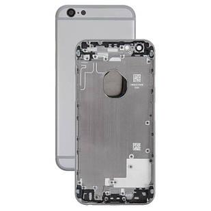 Корпус для iPhone 6, с держателем SIM-карты, с боковыми кнопками, черный