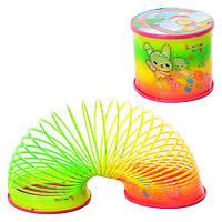 """Развивающая игрушка""""Шагающая пружинка"""" слинки (Slinky) """"Радуга"""""""