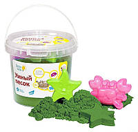 Набор для детского творчества «Умный песок» Зелёный 1  (SSR104) DREAM MAKERS-GENIO KIDS-ART
