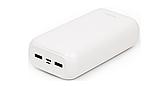Power Bank Nomi L300 30000 mAh  2*USB 5V 2,1A, 1A, кабель USB - micro USB- универсальная мобильная батарея, фото 4