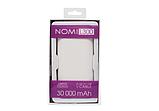 Power Bank Nomi L300 30000 mAh  2*USB 5V 2,1A, 1A, кабель USB - micro USB- универсальная мобильная батарея, фото 6