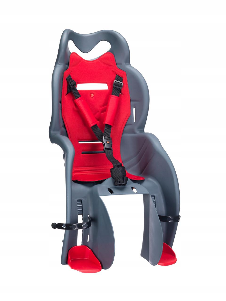 Велокрісло HTP SANBAS Італія на багажник Сіре