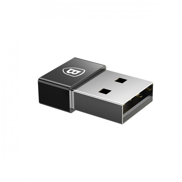 Переходник Baseus CATJQ-A01 USB to Type-C Black
