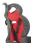 Велокрісло HTP SANBAS Італія на багажник Сіре, фото 3