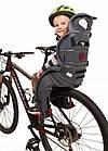 Велокрісло HTP SANBAS Італія на багажник Сіре, фото 10