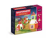 Магнитный конструктор Magformers Набор для строительства, 50 эл. (705003)