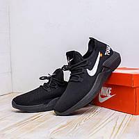 Мужские кроссовки Nike Foam. Кроссовки черные с белым Найк Фоам мужские.