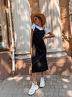 Платье и футболка,3 цвета,42-44,44-46