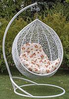 Подвесное кресло кокон со стойкой Эмилия в любом цвете