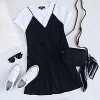 Платье и футболка,мини,3 цвета,42-44,44-46