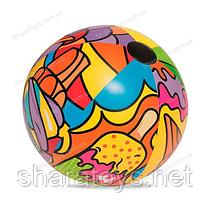 """М'яч надувний """"Поп-арт"""" 91 см"""