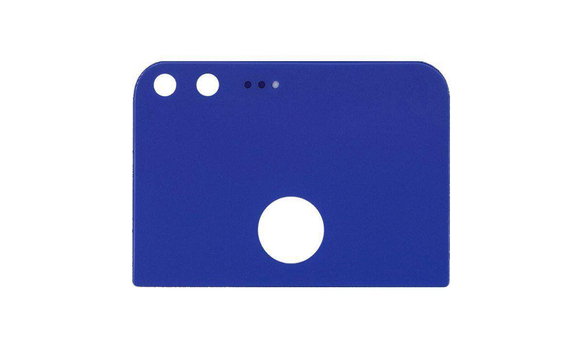 Задняя крышка корпуса Google Pixel стекло Blue
