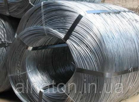 Проволока стальная ОК оцинкованная ф1,8мм - ООО «Компания Алнатон» в Киеве