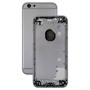 Корпус для iPhone 6S, с держателем SIM-карты, с боковыми кнопками, черный