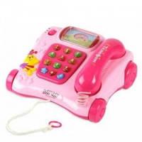 Обучающий умный телефон JoyToy 7041 каталка