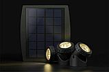 Подводный фонарь на солнечной батарее АМФИБИЯ ТРИО Тёплый Белый, фото 3