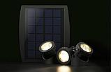 Подводный фонарь на солнечной батарее АМФИБИЯ ТРИО Тёплый Белый, фото 6
