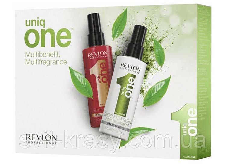 Спрей для волос с екстрактом зеленого чая Revlon Professional Uniq One All in One 150 мл
