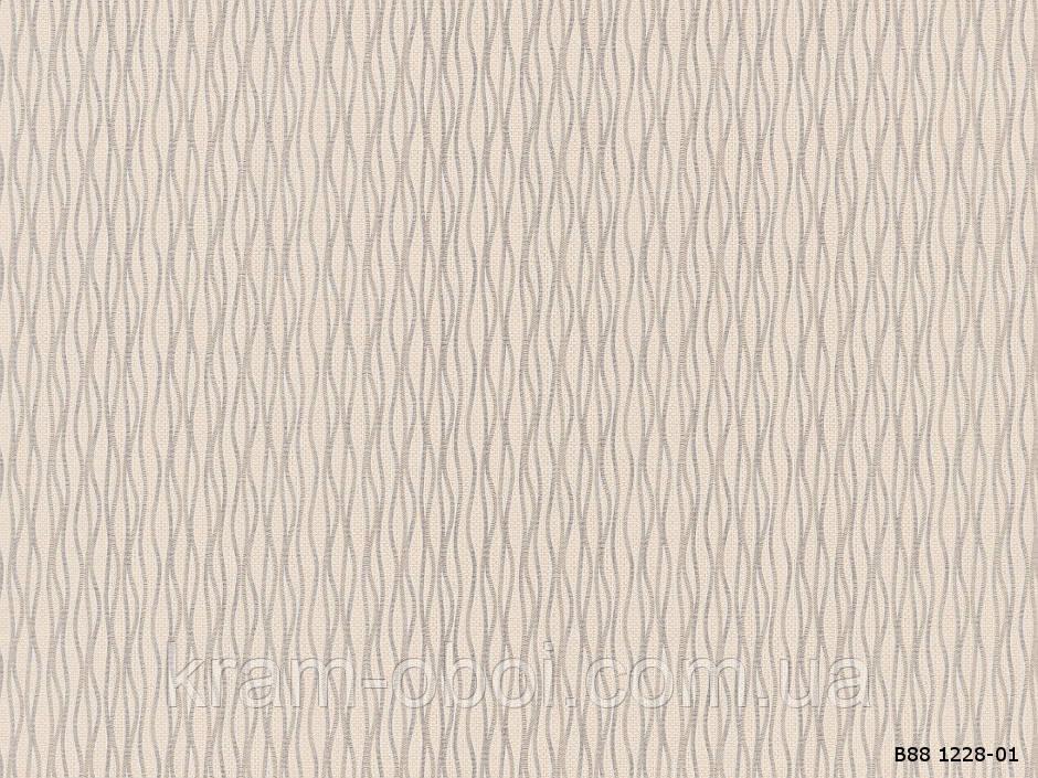 Шпалери Слов'янські Шпалери КФТБ вінілові на флізеліновій основі 10м*1,06 9В109 9В88 Олена 1228-01