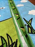 """Дитячий пляжний рушник - пончо """"Динозаврик"""", фото 4"""