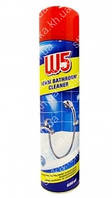 Средство для уборки ванной комнаты и туалета W5 Foam Bathroom Cleaner 600 мл