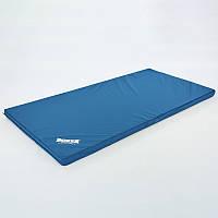 Мат спортивный Кожвинил 2x1м x 8см BOXER (наполнитель-поролон,плотность 25кг/м), фото 1