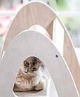 Когтеточка-дерево, башта, дряпалка Tower 4 полички для кішок, фото 4