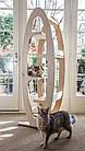 Когтеточка-дерево, башта, дряпалка Tower 4 полички для кішок, фото 5