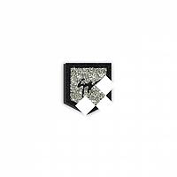 Декор из страз на джинсы Карман с лого