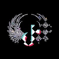 Аппликации на шляпы термо ТикТок лого