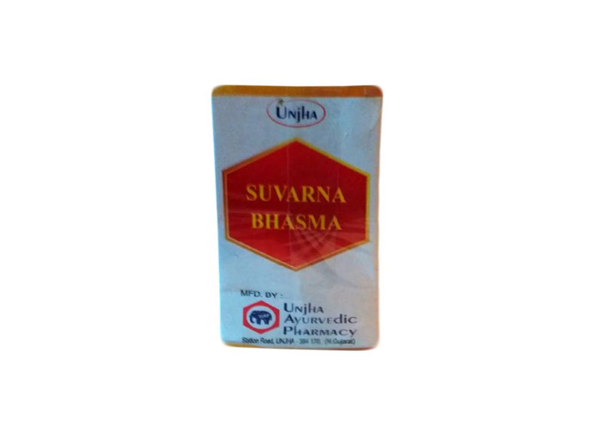 SUVARNA BHASMA(100MG). UNJA. СУВАРНА БХАШМА (100МГ).УНДЖА