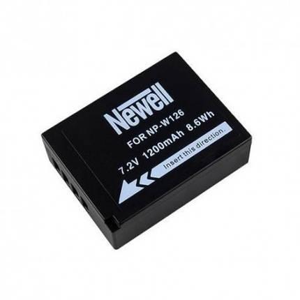 Аккумуляторная батарея Newell NP-W126 для  камер Fujifilm, фото 2