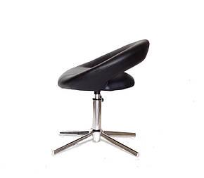 Стильное кресло из эко-кожи на хромированном современном основании с регулировкой высоты HOLY Modern Base, фото 2