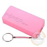 Корпус Power BANK (без АКБ, 2×18650) hot pink