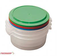Судки пластиковые пищевые 1 л, набор 3 шт