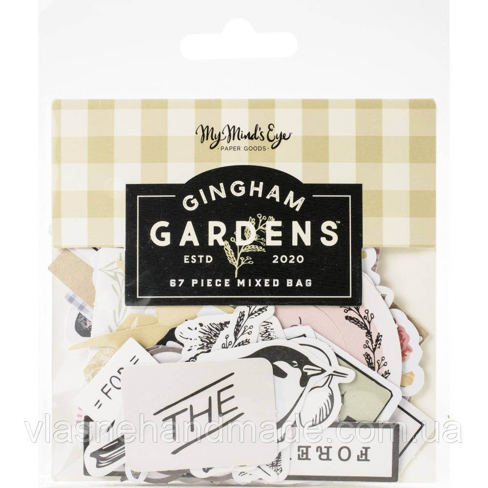 Висічки - Gingham Gardens - MME - 67 шт.