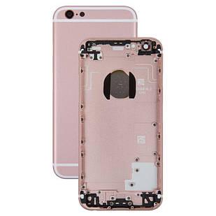 Корпус для iPhone 6S, с держателем SIM-карты, с боковыми кнопками, розовый