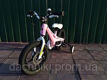 "Велосипед ROYAL BABY MG DINO 14"" Коричневый, фото 2"