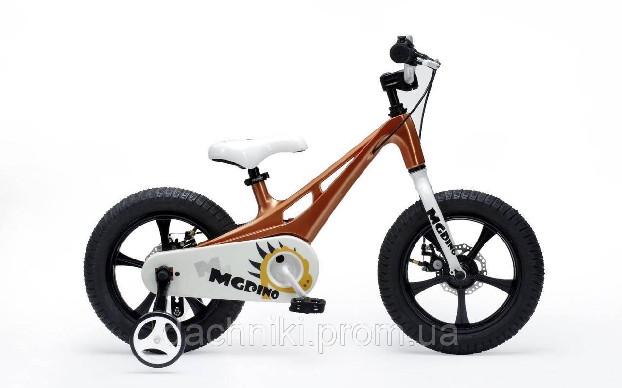 "Велосипед ROYAL BABY MG DINO 14"" Коричневый"
