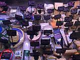 Ценникодержатель на прямоугольной пластиковой подставке черного цвета, фото 5