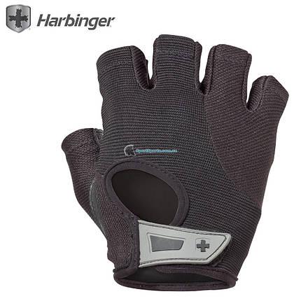 Перчатки для фитнеса HARBINGER Women's Power Weightlifting Gloves, фото 2