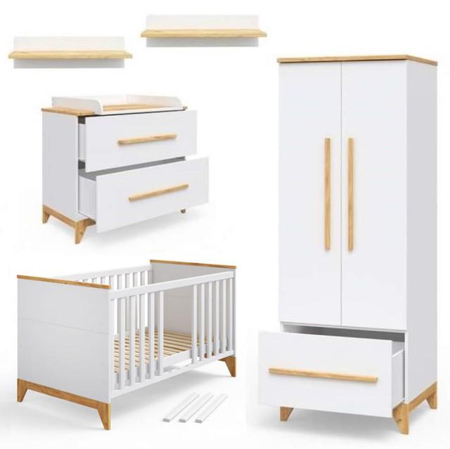 Комплект модульной  мебели в детскую Мила
