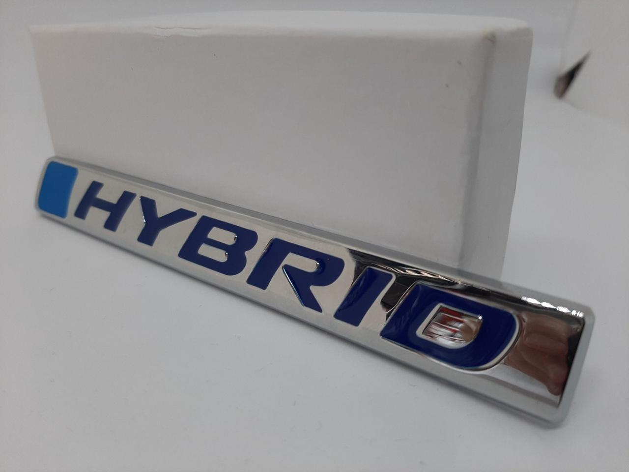 "Эмблема логотип надпись на крыло ""Hybrid"" : комплект 1шт (оригинал)"