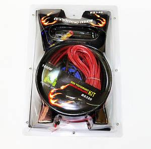 Комплект проводов для подключения усилителя саббуфера BS-320 130724