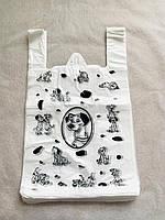Пакет полиэтиленовый майка №3 Долматинец 270*470 Эбос 250 штук, фото 1