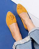 Элитная коллекция! Стильные женские туфли лоферы с кисточками, фото 2