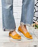 Элитная коллекция! Стильные женские туфли лоферы с кисточками, фото 3